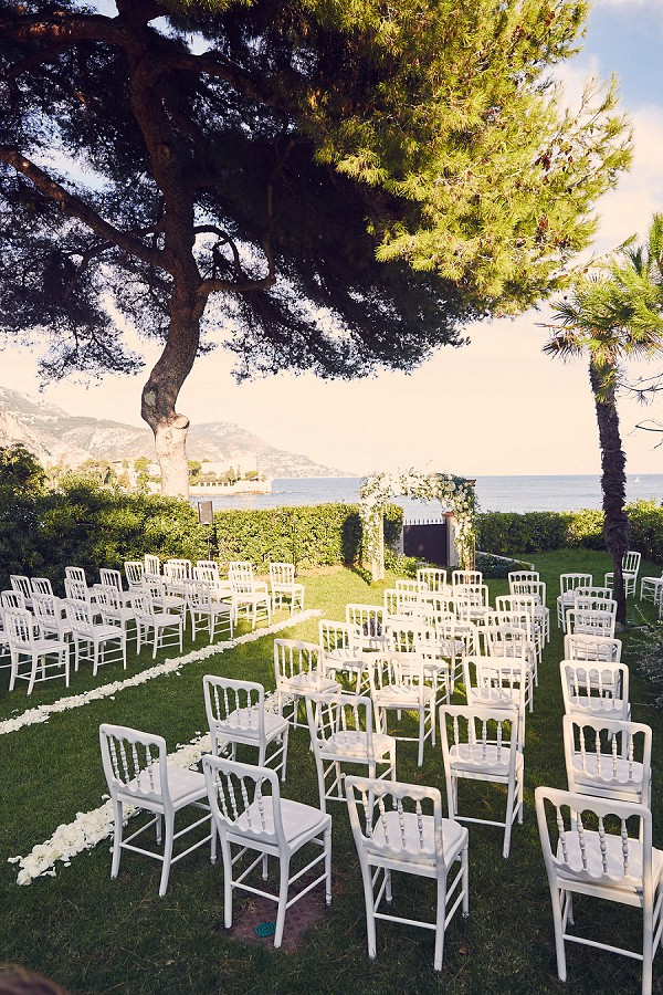 Outdoor fall ceremony France