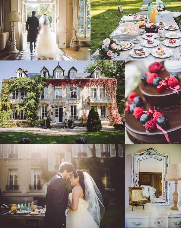 Quintessential French Garden Wedding In Paris Snapshot