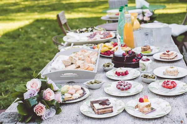 Quintessential French Garden Wedding