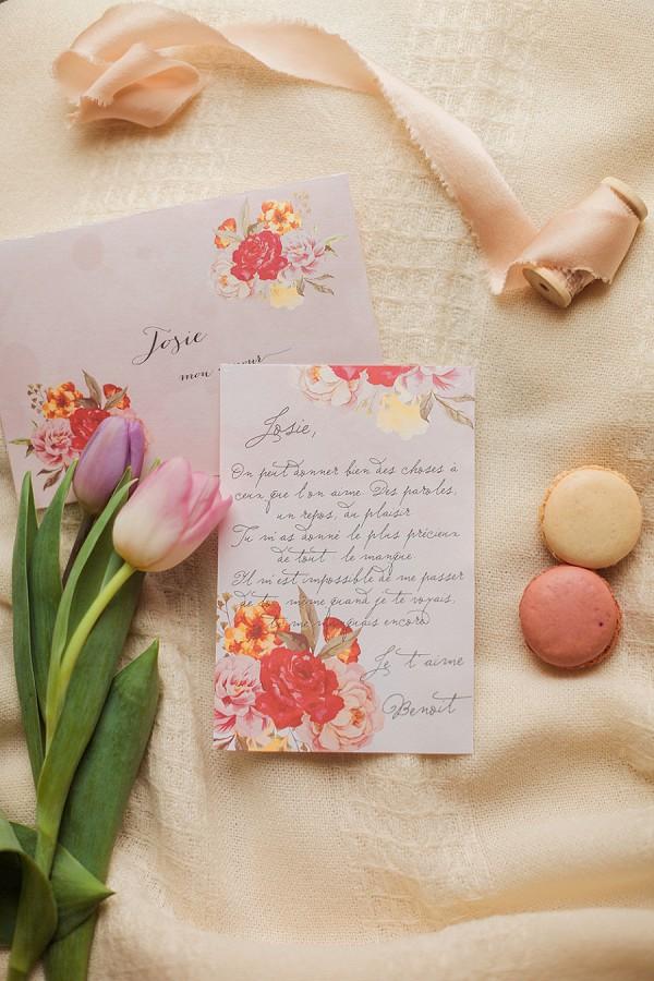 Rose Wedding Stationary