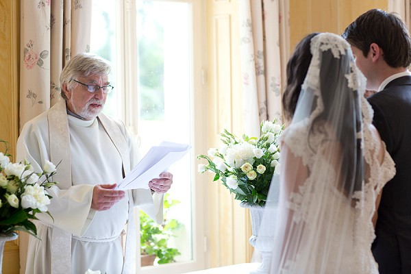 Sheer Lace Wedding Veil