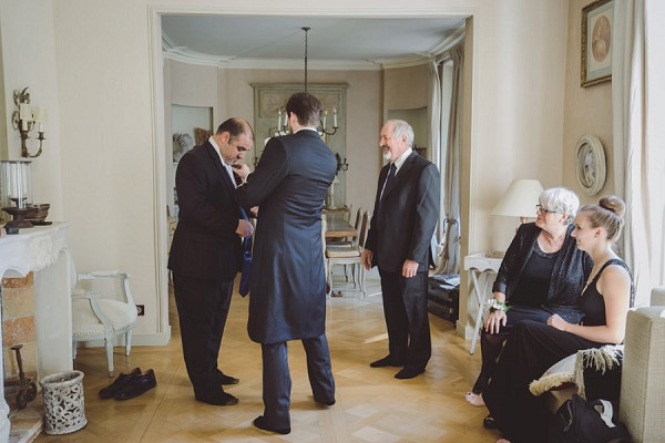 Small Chateau Wedding Near Paris