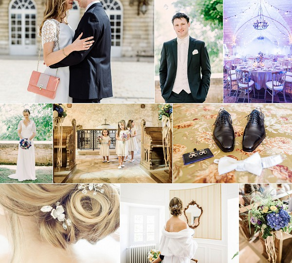 Traditional French Hattonchatel Chateau Wedding Snapshot