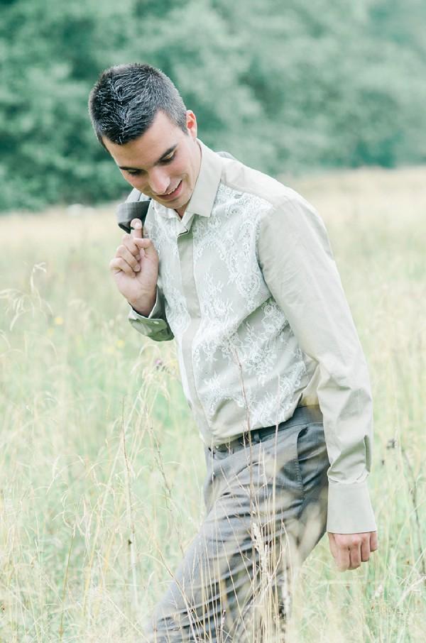 Unique groom shirt