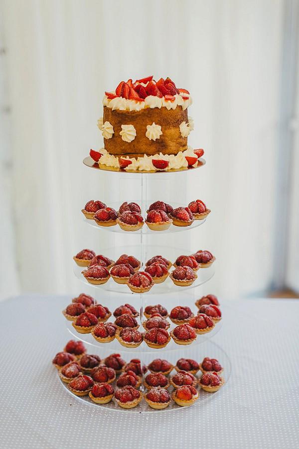 Wedding Cake Strawberry Tart