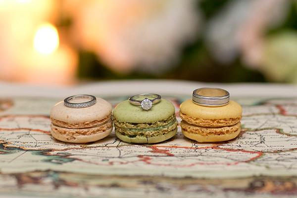Wedding Ring Trio Shot