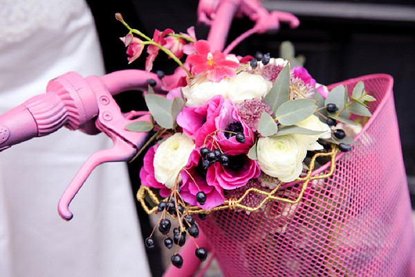 Wedding day Inspiration Fuchsia