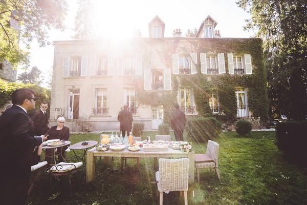 Wedding venue - Paris Manor House