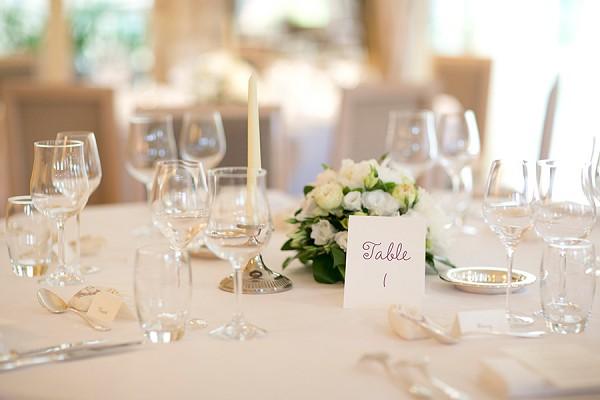 White and Cream Wedding Theme
