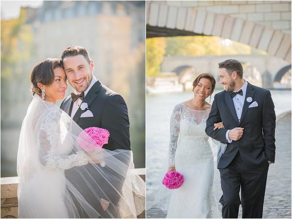 blacktie wedding in Paris