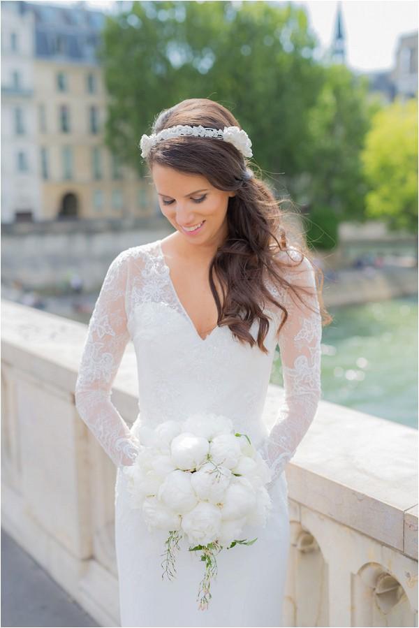 bridal portraits in Paris