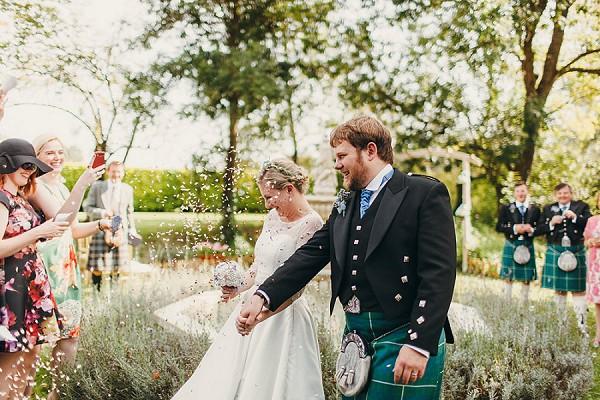 cobalt blue wedding details