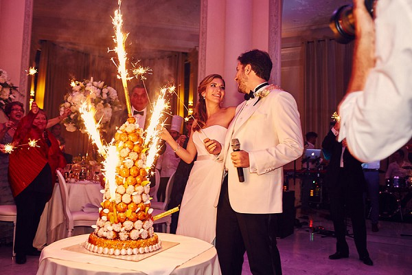 crocembouche wedding French Riviera