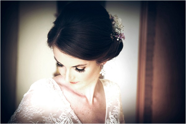 elegant bridal hair and make up
