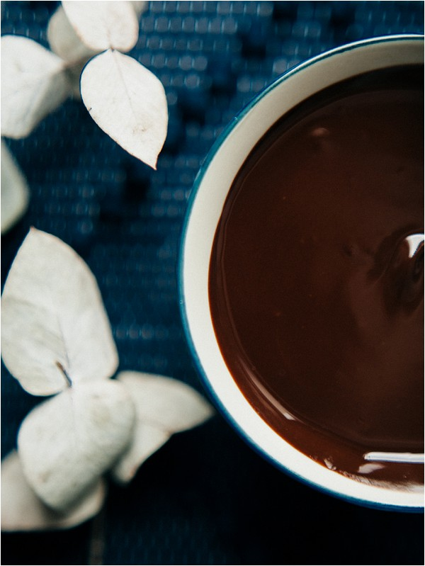 hot melted chocolate