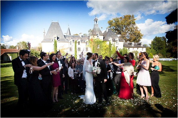 intimate wedding at Chateau