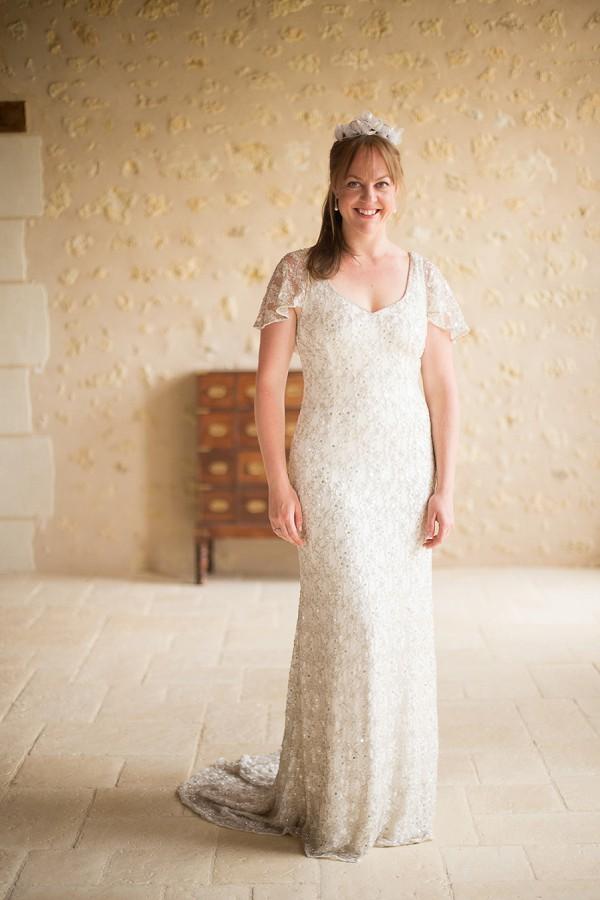 phase eight wedding dress sequine