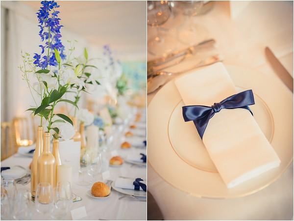 springtime wedding details