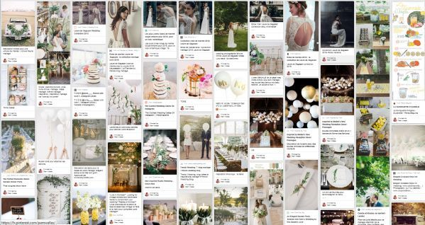 wedding planning in France on Pinterest