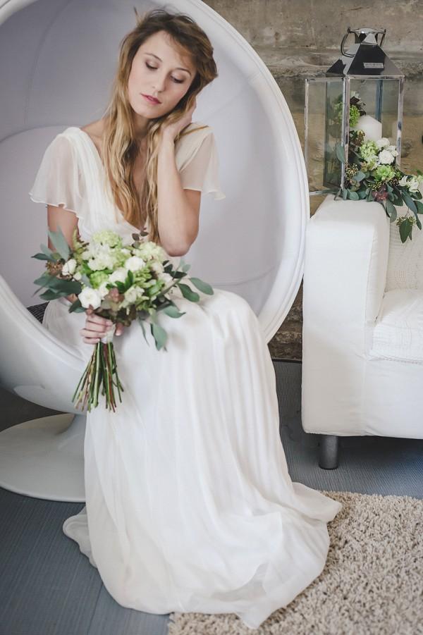 Boho wedding gown ideas