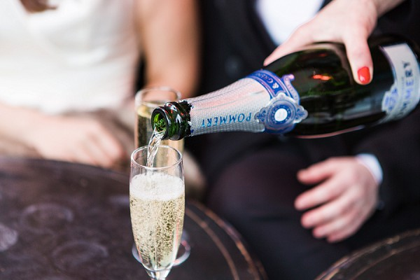 Champagne Paris Wedding