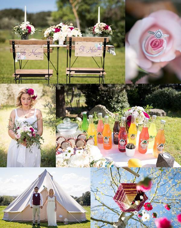 Coachella Festival Wedding Inspiration Snapshot