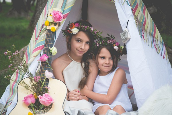 Cute flower girl flower crowns