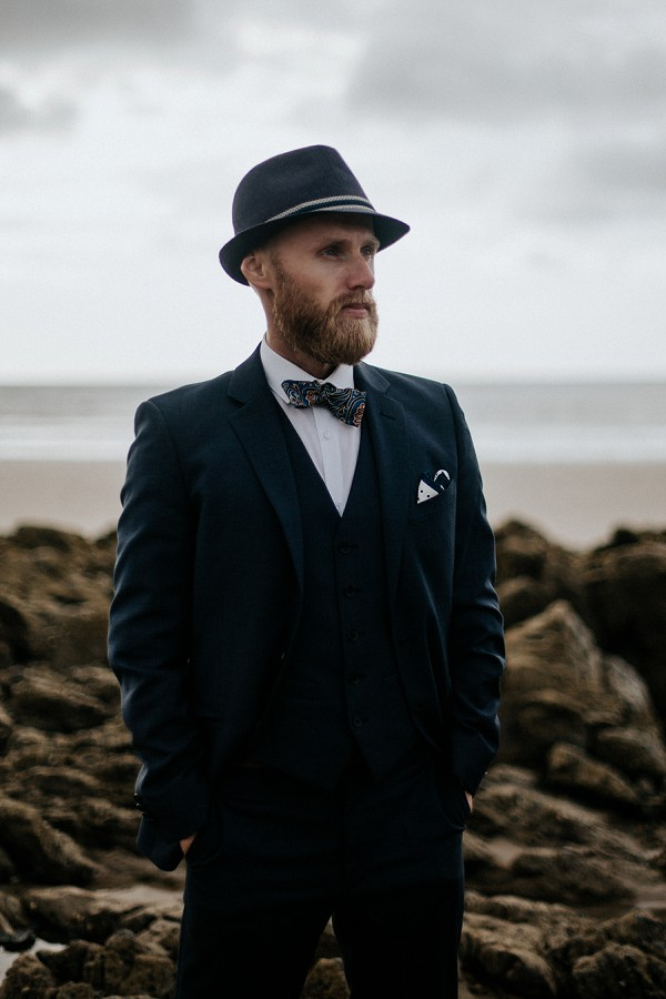 DKNY grooms suit