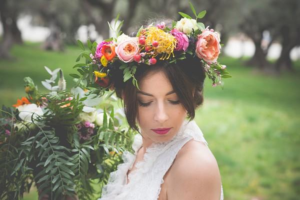 David austin flower crown