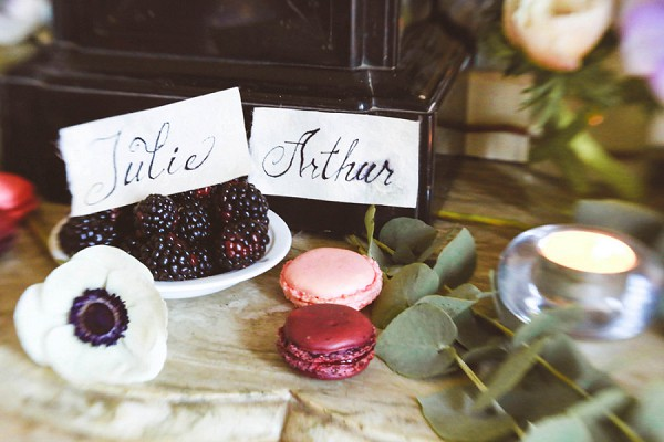 Delicious wedding treats