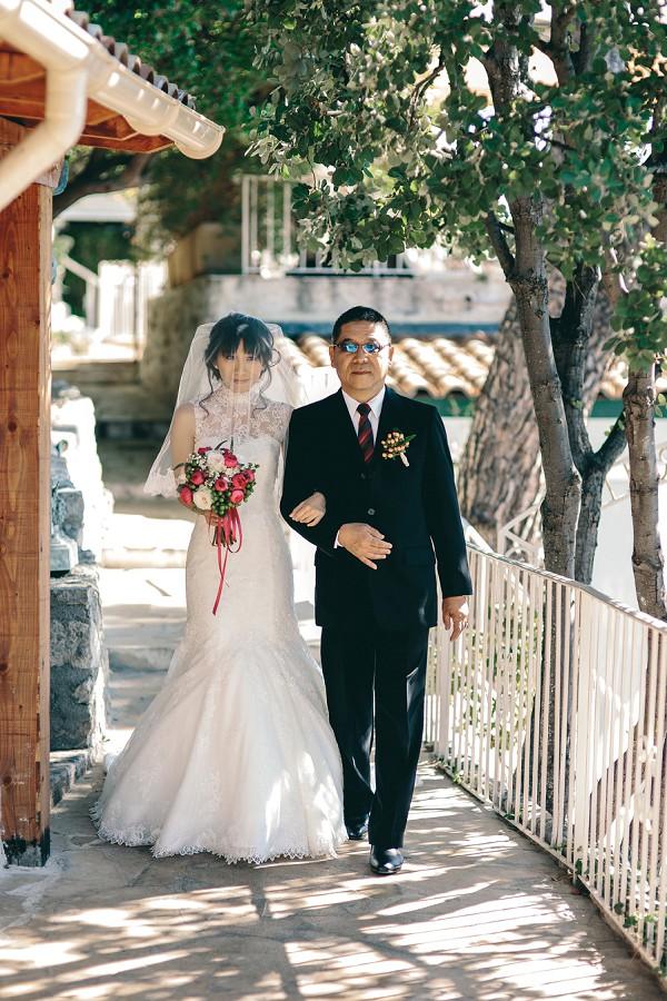 Destination wedding in Eze