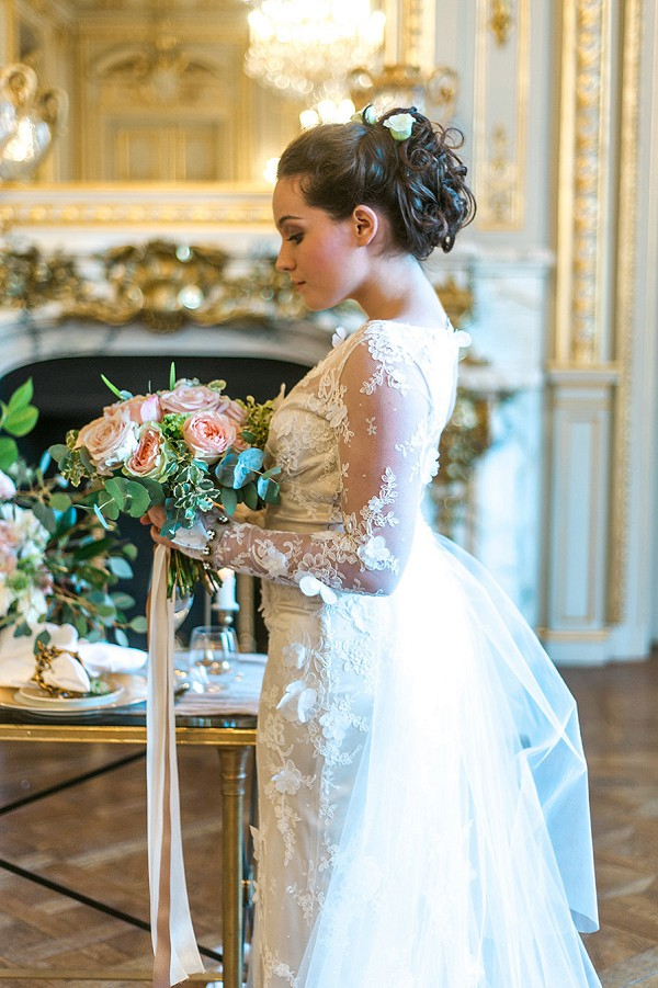 Elegant Shangri-La Paris Wedding Inspiration