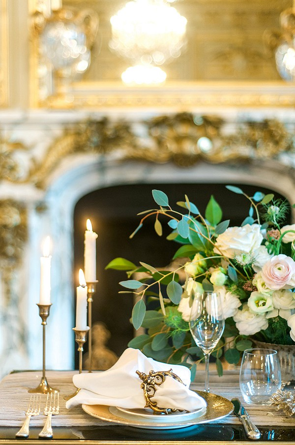 Elegant Shangri-La Paris Wedding