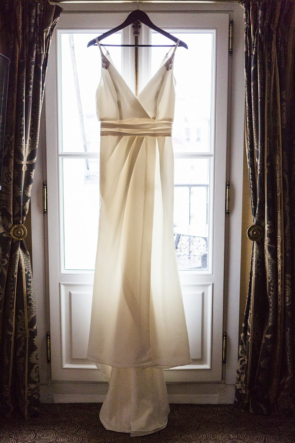 Elegant gown from David's Bridal