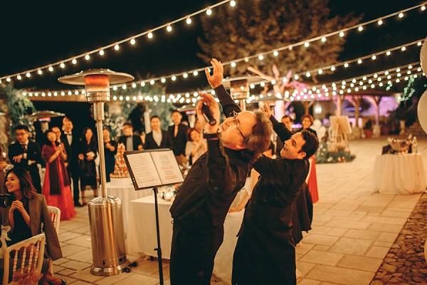 French & Italian opera duo wedding entertainment