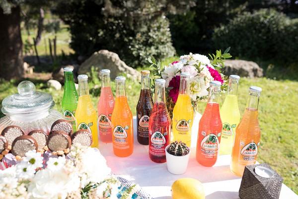 Jarritos wedding drinks