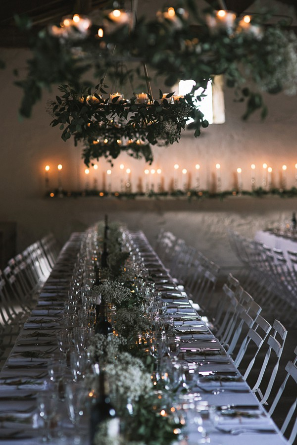 Long table wedding idea