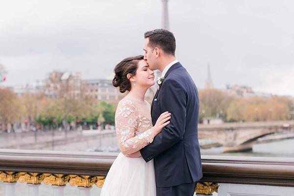 Magical wedding day Paris