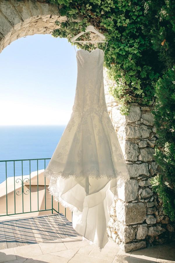 Pronovias 2015 strapless dress