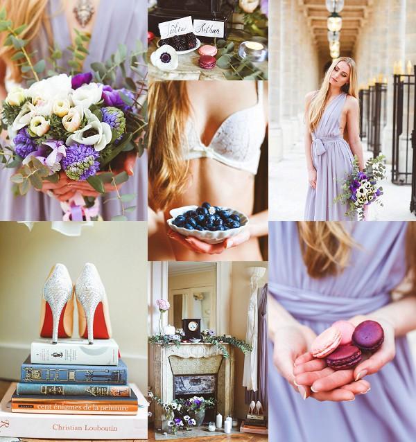 Romantic Boudoir Bridal Photo Shoot in Paris Snapshot