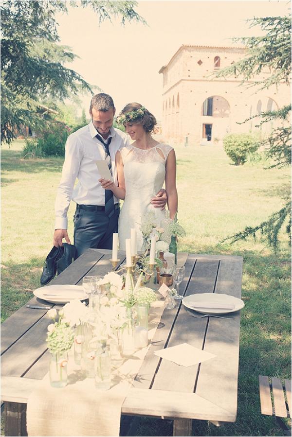 Vintage Wedding in Southern France
