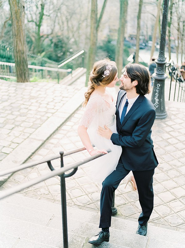 Wedding Day Elegance In Paris