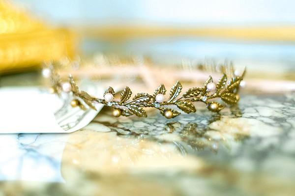 Wedding Flower Crown Alternative
