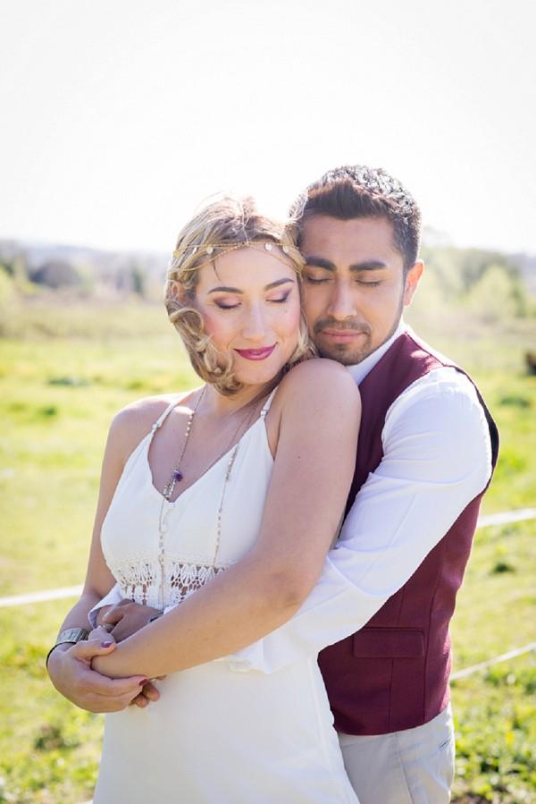 bohemian wedding attire