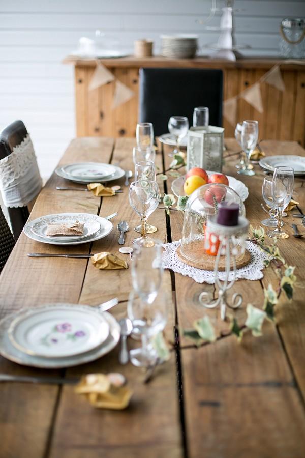boho rustic table wedding