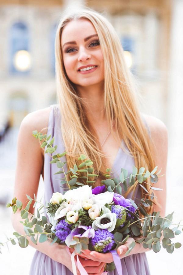 eucalyptus bridal bouquet ideas