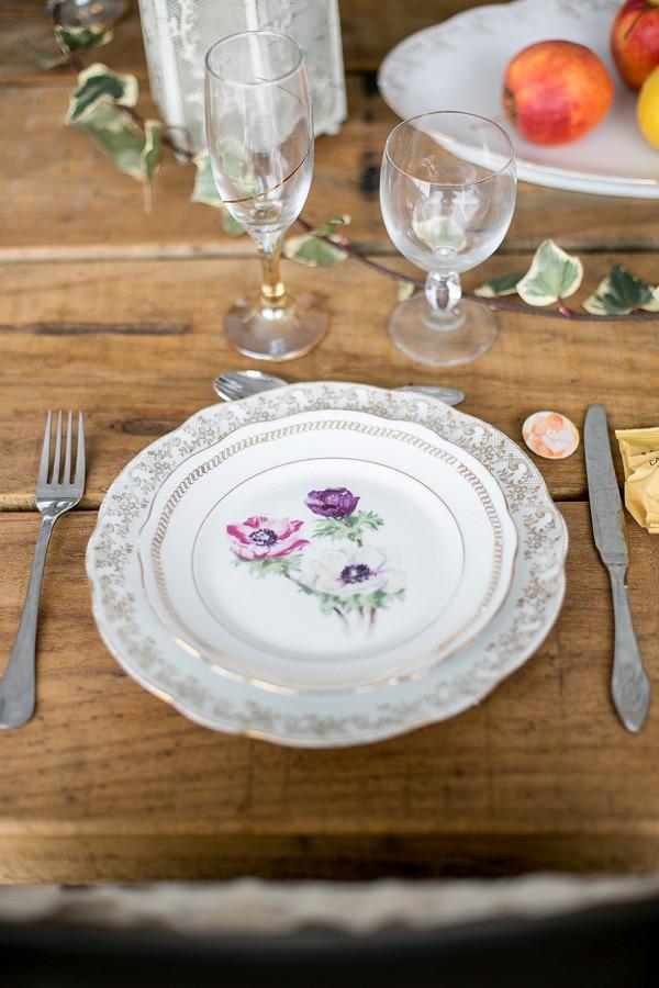 mix match wedding china