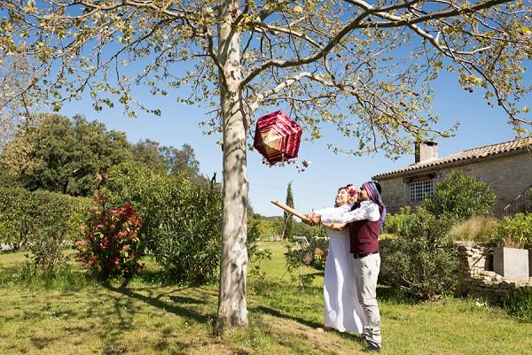piñata wedding game