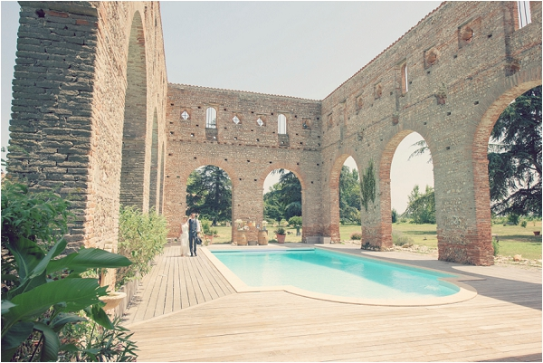 ruins as a wedding location France