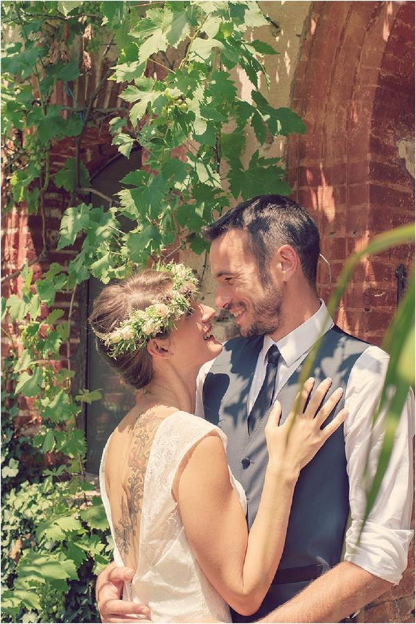 rustic vintage style wedding